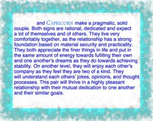 Capricorn virgo compatibility 1