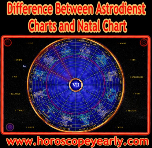 Difference Between Astrodienst Charts And Natal Chart